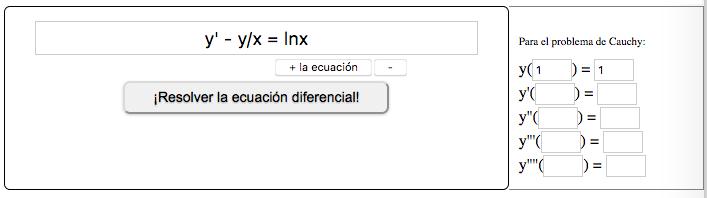 ¡Resolver la ecuación diferencial!