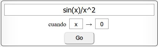 Calculando los límites online