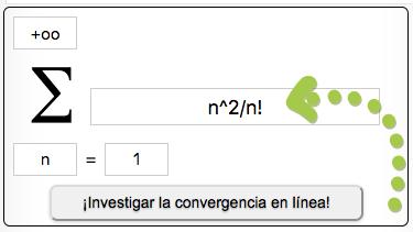 ¡Investigar la convergencia en línea!
