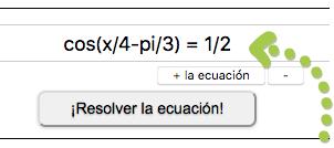 Solución de ecuaciones trigonométricas