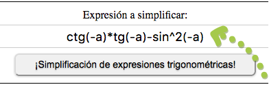 ¡Simplificación de expresiones trigonométricas!